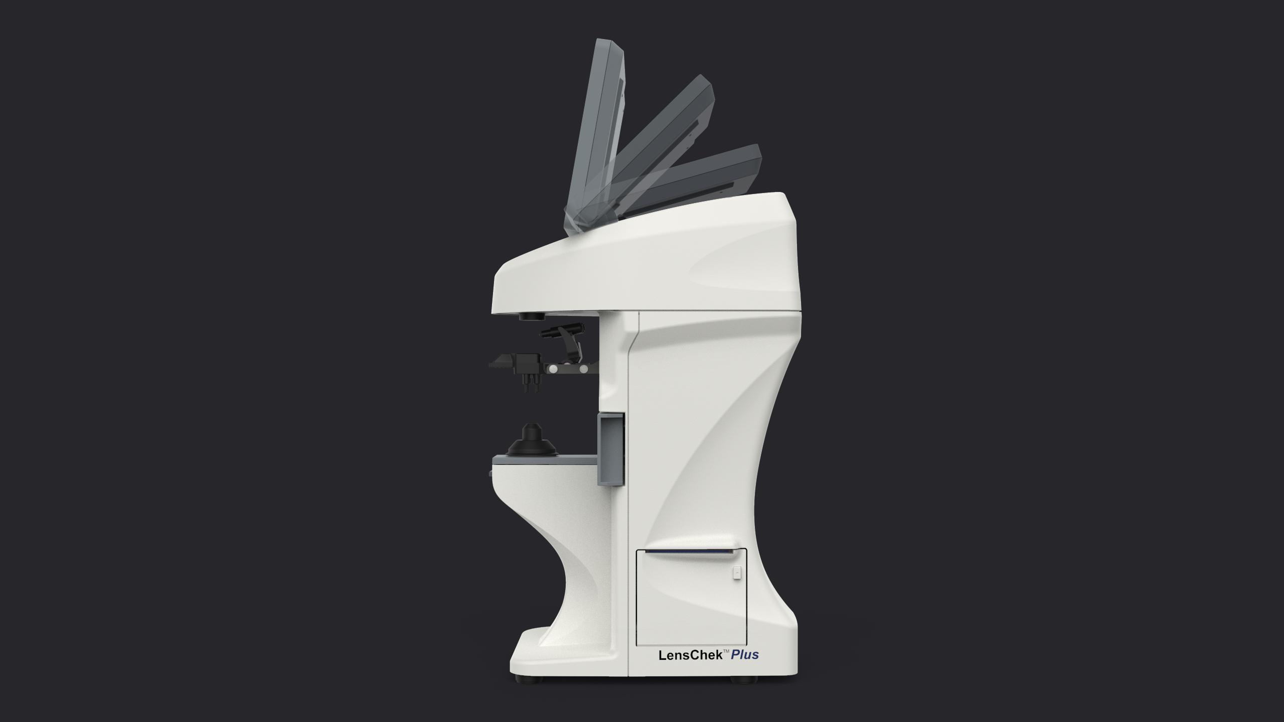 Design industriel du LensChek Plus - Digital Lensometer